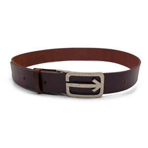 ARROW Leather Belt – Chocolate Brown-Rimanchik