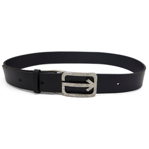 ARROW Leather Belt – Black-Rimanchik