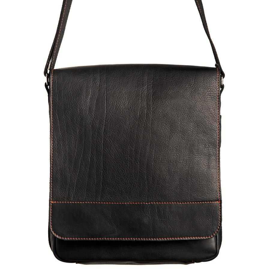 AUSTIN Messenger Bag – Black/Red-Rimanchik