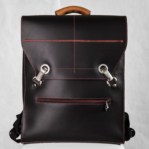 BEN Laptop Backpack – Black/Red-Rimanchik