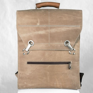 BEN Laptop Backpack – Antique Beige-Rimanchik