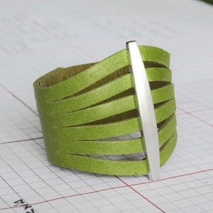 FLARE Cuff – Lime Green-Rimanchik