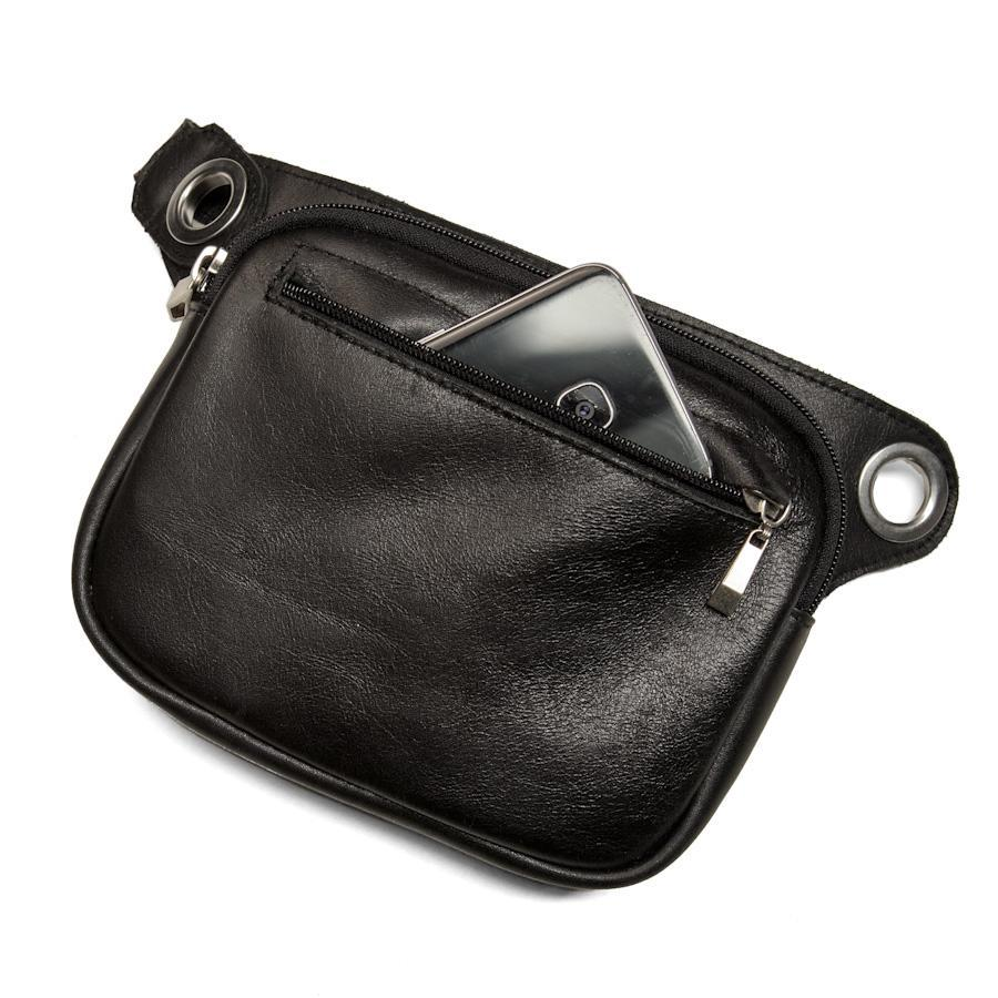 FELIX Convertible Hip & Crossbody Bag - Black-Rimanchik