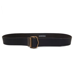 FLIP Leather Belt – Black-Rimanchik