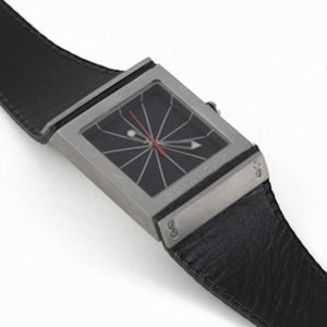 FULCRUM Taper Watch – Black-Rimanchik
