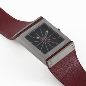 FULCRUM Taper Watch – Coral Red-Rimanchik