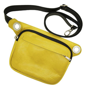 FELIX Fanny Pack / Crossbody Convertible Bag - Yellow-Rimanchik