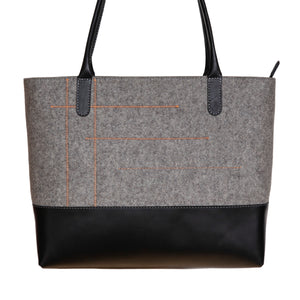 LANA Tote Bag – Light Grey-Rimanchik