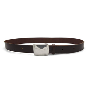 TAYLOR Leather Belt – Chocolate Brown-Rimanchik