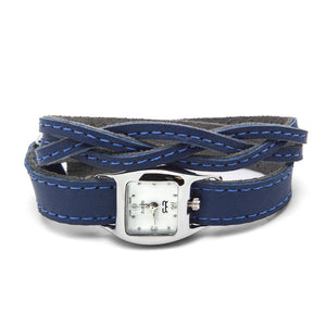 Braided TWIST Watch – Royal Blue-Rimanchik
