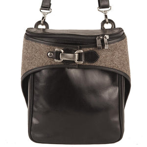VIA II Bag - Black with Felt-Rimanchik