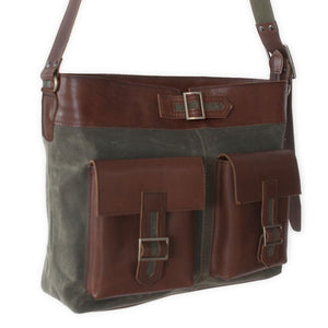 VIA I Messenger Bag - Army Green-Rimanchik