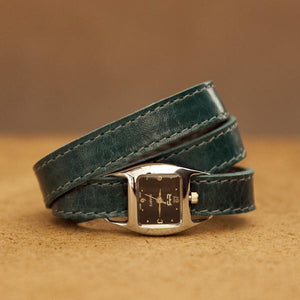 TWIST Wrap Watch – Teal - Rimanchik - 1