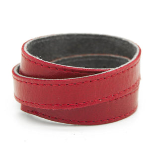 TWIST Wrap Cuff – Cherry Red-Rimanchik
