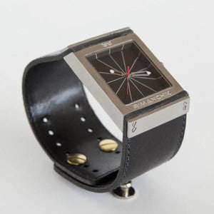 FULCRUM Watch – Black-Rimanchik