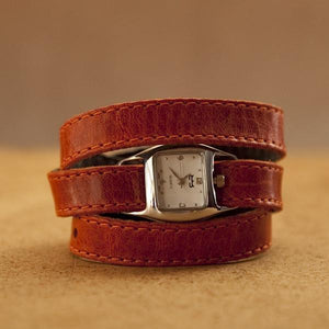 TWIST Wrap Watch – Orange - Rimanchik - 1