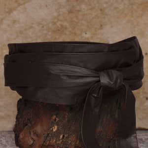 SASH-A Wrap Belt – Dark Brown-Rimanchik