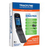 TracFone Spare Cell Phone - Black Umbrella