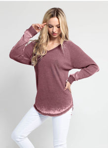 Thermal Raglan Top