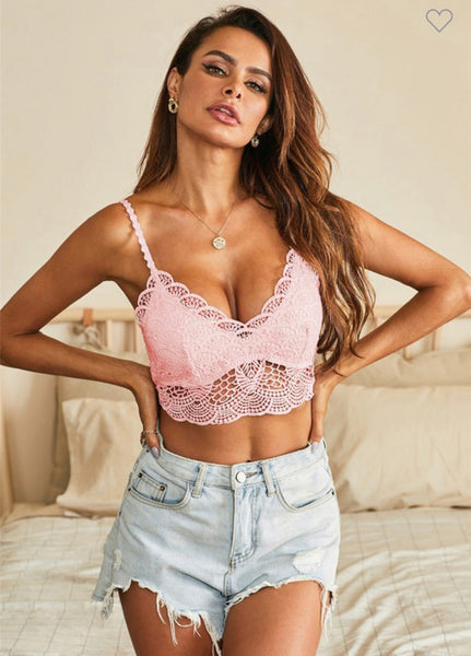 Sunset Lace Bralette