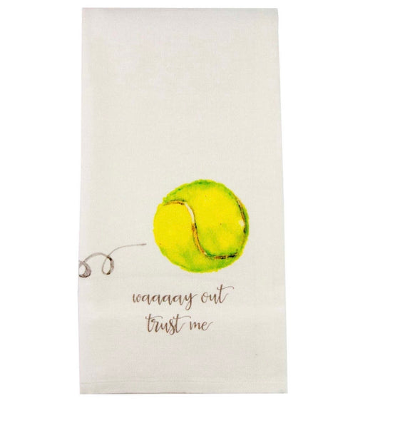 French Graffiti Dishtowel