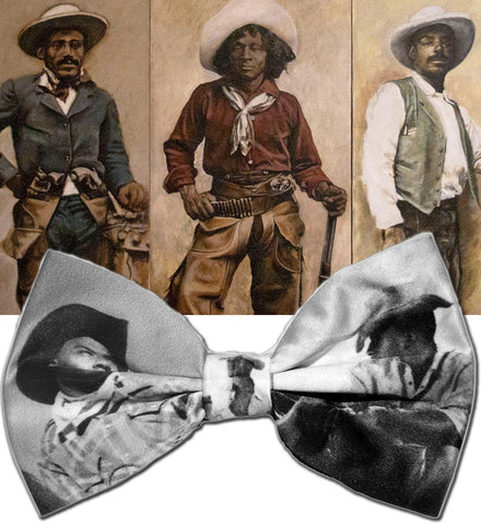 Black Cowboys/ Black History Bowtie (Limited Collector's Edition)