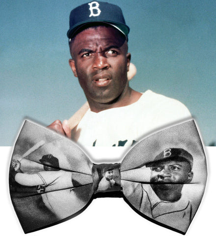 Jackie Robinson Black History Bowtie (Limited Collector's Edition)