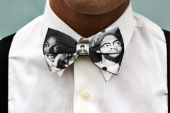 Martin Luther King and Malcolm X Bowtie