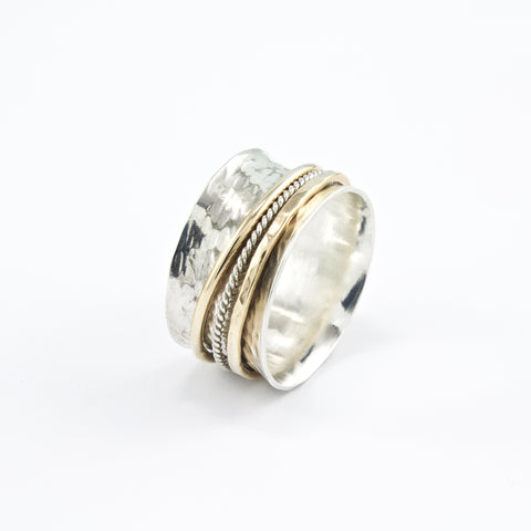 """Beauty"" - Spinner Ring"
