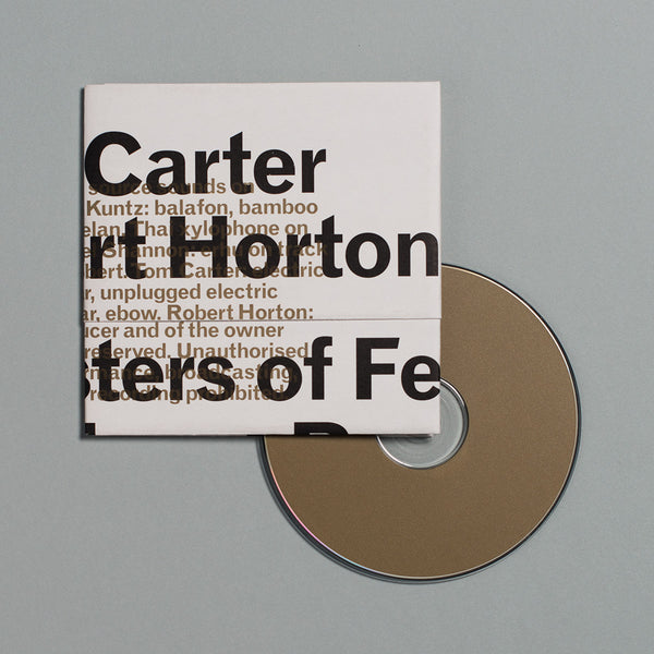 Tom Carter & Robert Horton: Monsters of Felt