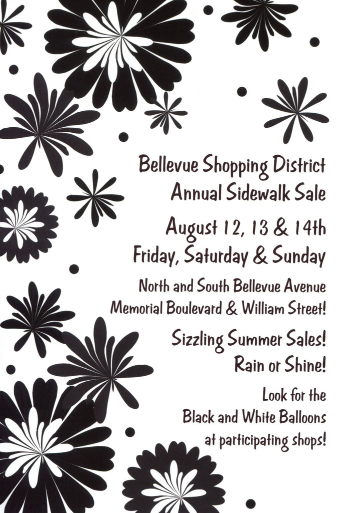 Sidewalk Sale in Newport!