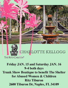 Trunk Show this Weekend in Naples