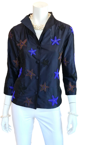 Star Jacket in Navy