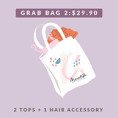 BUNDLE 2 – 2 Tops + 1 Hair Accessory
