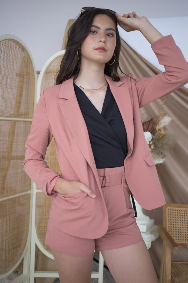 Taylor Blazer Suit – Rose