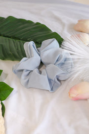 Satin Scrunchie – Baby Blue