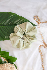 Satin Scrunchie – Sage
