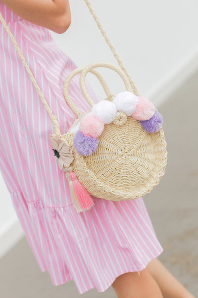 Marie Duffy Pom Pom Bag