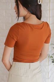 [Bundle Deal All Colours] Nora Ruched Top – Multicolours