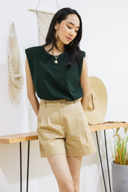 Sophie Safari Shorts – Khaki