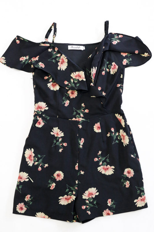 Isla Floral Romper – Multi-colours