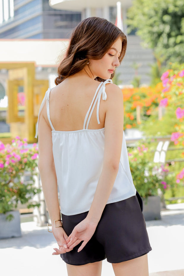 Bexy Camisole Top – White