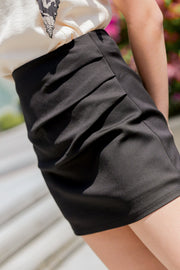 Sammi Side Detail Skorts – Black