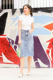 Blancha Denim Skirt