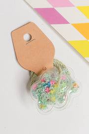 Kyrie Confetti Flower Hair Tie – Multi Colour