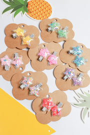 Elexis Star Confetti Hair Clip – Multi Colour