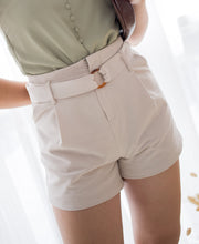 Taylor Buckle Shorts – Sand