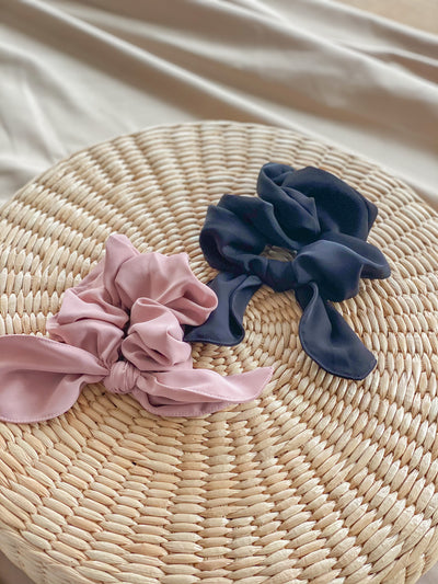 Jennie Ribbon Scrunchie – Multicolours