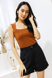 [Bundle Deal 3Colours] Luna Straight Cut Top