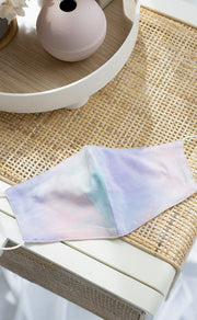 Reusable Tie-Dye Mask – Pastel